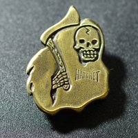 "HATCHET METAL WORK STUDIO / ""GRIM"" Pins / ピンズ"