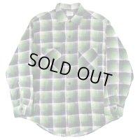 USED /  BIG MAC  / プリントネルシャツ