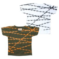 B.W.G / WIRE / KIDSTシャツ(全2色)