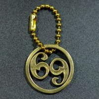 "HATCHET METAL WORK STUDIO / ""69"" Key Ring / キーリング"