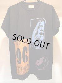 VIOLENTGRIND / THE DAYS OF KURO記念 / 手刷りマルチプリントTシャツ(5)