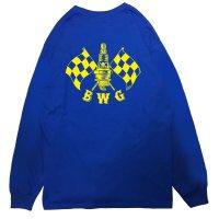 B.W.G / CHECKER SPARK / L/S Tシャツ(全3色)