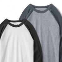 BLUCO / 2PAC THERMAL SHIRTS - Raglan 4/5- / サーマルシャツ(全3種)