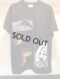 VIOLENTGRIND / THE DAYS OF KURO記念 / 手刷りマルチプリントTシャツ(4)