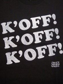 Other Photo1: 少量再生産!!SPAZ / K'OFF! / Tシャツ