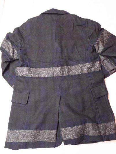 画像2: NADA. / ブラックウォッチ柄コート