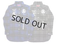 ANARC of HEX / LONG LENGHTH NEL SHIRTS / チェックネルシャツ