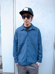 Other Photo1: BLUCO / STANDERD WORK SHIRTS L/S / L/S ワークシャツ