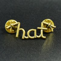 "HATCHET METAL WORK STUDIO / ""h.a.t"" Pins / ピンズ"