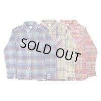 BLUCO / OVERDYE NEL SHIRTS / ネルシャツ / 全3色