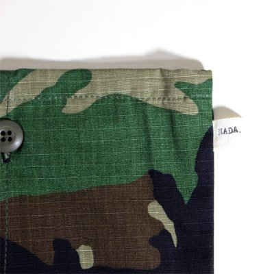 画像4: NADA. /  RE-MAKE CAMO DRAWSTRING BAG   / バッグ【カモ】