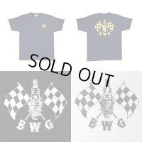 B.W.G / CHECKER SPARK / Tシャツ