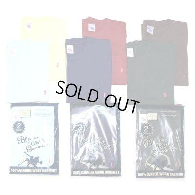 画像1: BLUCO / ORIGINAL 2PCS TEE'S(2017 カラー) / 2パックTシャツ
