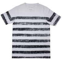 30%OFF!!NADA. / Hand painting border tee / Tシャツ