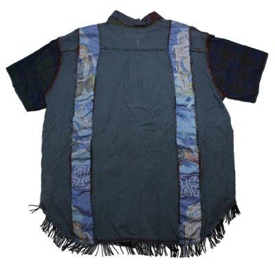 画像2: 30%OFF!!NADA. / Boro Shirts / S/Sシャツ