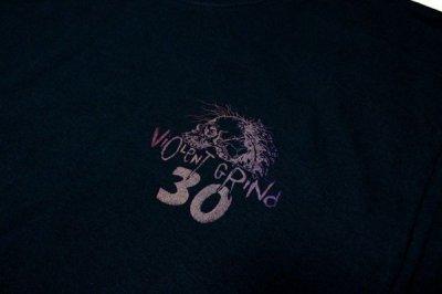 画像2: VIOLENTGRIND / 手刷りプリント・Lサイズ / 30th anniversary ロンT