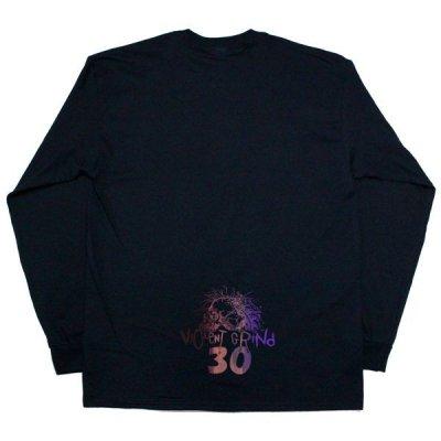 画像4: VIOLENTGRIND / 手刷りプリント・Lサイズ / 30th anniversary ロンT