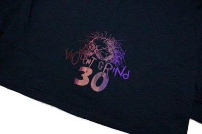 画像5: VIOLENTGRIND / 手刷りプリント・Lサイズ / 30th anniversary ロンT