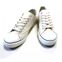THE HIGHEST END / Canvas Training Shoes / スニーカー(WHITE)