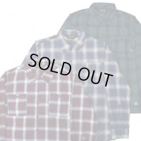 BLUCO / OMBRE CHECK SHIRTS / シャツ(全3色)