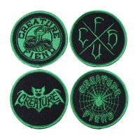 CREATURE / FIELD CLUB PATCH SET