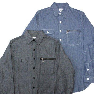 画像1: B.W.G / CHAMBRAY SHIRTS / シャンブレーシャツ