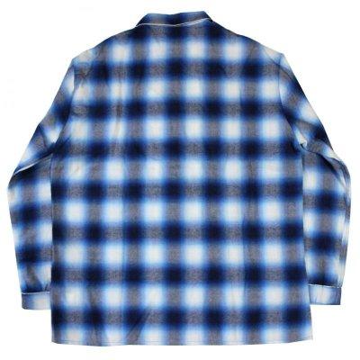 画像3: SALE!!NADA. / Pajama Shirts - ombre check