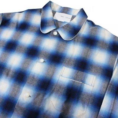 画像4: SALE!!NADA. / Pajama Shirts - ombre check