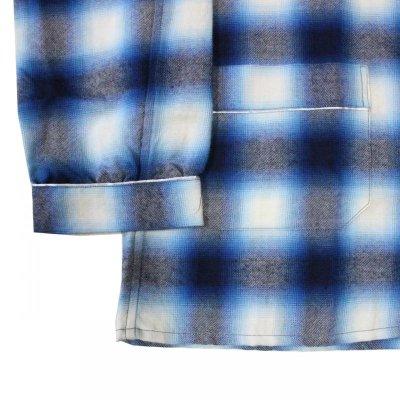 画像5: SALE!!NADA. / Pajama Shirts - ombre check