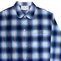 SALE!!NADA. / Pajama Shirts - ombre check