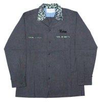 NADA. / Leopard collar open neck shirts (刺繍あり・なし)
