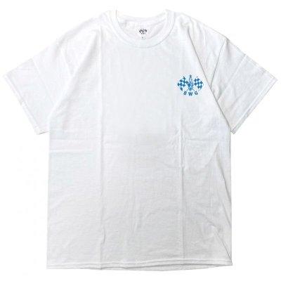 画像2: B.W.G / CHECKER SPARK / Tシャツ(全3色)