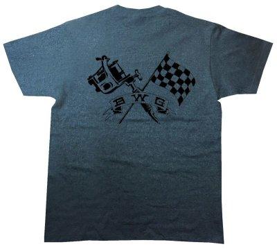 画像1: B.W.G / CHECKER INK / Tシャツ(全3色)