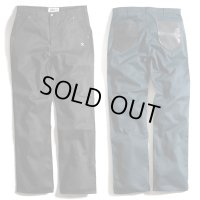 B.W.G / OL-003 LIMITED EDITION LEATHER BACK POCKET PANTS / ワークパンツ