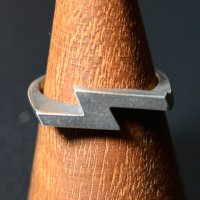 "HATCHET METAL WORK STUDIO / ""S"" Ring / リング"