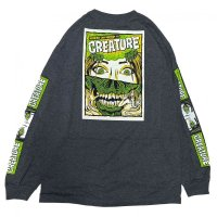 CREATURE / HORROR FEATURE / L/S Tシャツ(全2色)