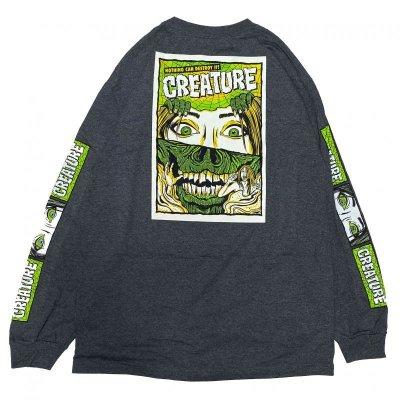 画像1: CREATURE / HORROR FEATURE / L/S Tシャツ(全2色)