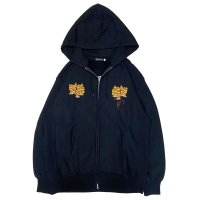 NADA. /  TIGER EMBROIDERY HOODIE / パーカー