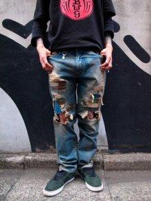 Other Photo1: NADA. / Crash denim pants / デニムパンツ