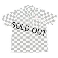 B.W.G / チェッカーフラッグシャツ【ワッペン付き】 / S/S シャツ