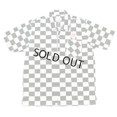 画像1: B.W.G / チェッカーフラッグシャツ【ワッペン付き】 / S/S シャツ