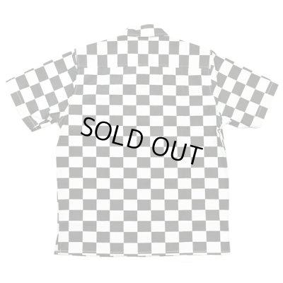 画像2: B.W.G / チェッカーフラッグシャツ【ワッペン付き】 / S/S シャツ
