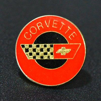 画像1: Vintage PINS / CORVETTE / ピンズ