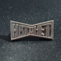 "HATCHET METAL WORK STUDIO / ""LOGO"" Pins / ピンズ"